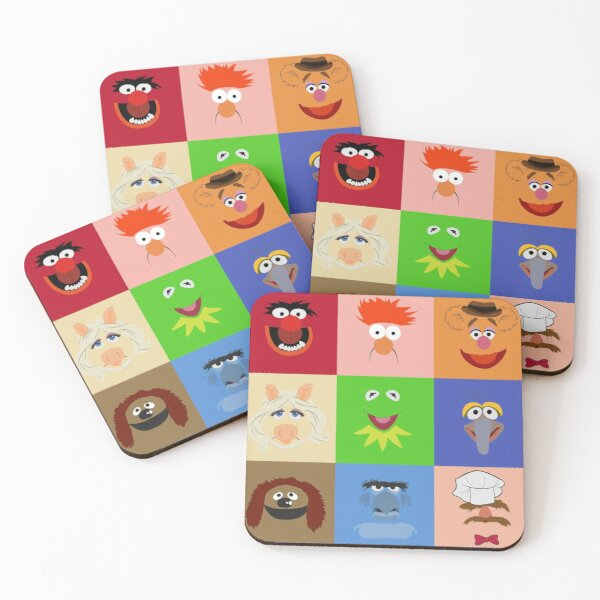 Muppets Coasters (Set of 4)