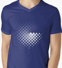 Dots can be in a disc Men's V-Neck T-Shirt
