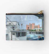Atlantis view from Potter's Cay Studio Pouch
