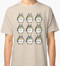 Totoro Emoji Classic T-Shirt