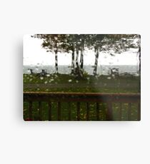 The Sky Cried The Day We Left... Metal Print