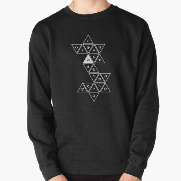 Unrolled D20 Pullover Sweatshirt