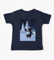 Sailor Penguin Baby Tee