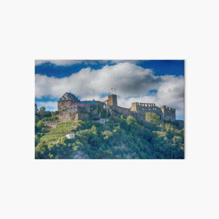 Castle Along the Rhine Gorge Art Board Print