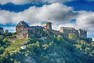 Castle Along the Rhine Gorge by Imagery