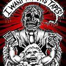 Say You Love Satan 80s Horror Podcast - Creepshow Basketcase VHS by sayyoulovesatan