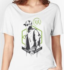 Watch Dogs 2 - Hacker Services Women's Relaxed Fit T-Shirt