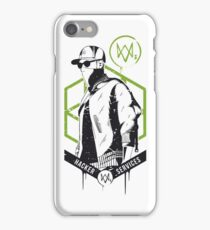 Watch Dogs 2 - Hacker Services iPhone Case/Skin