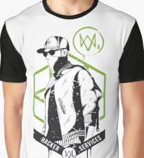 Watch Dogs 2 - Hacker Services Graphic T-Shirt