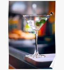 Tall Martini  Poster
