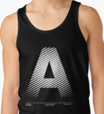 The letter A Tank Top