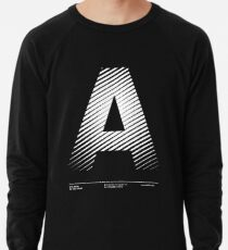 The letter A Lightweight Sweatshirt