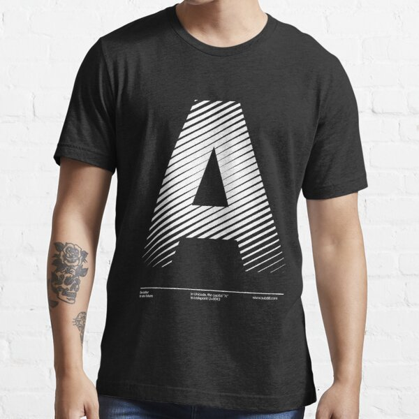 The letter A Essential T-Shirt