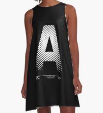 The letter A A-Line Dress