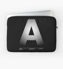 The letter A Laptop Sleeve