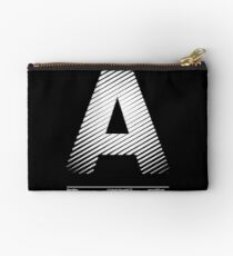 The letter A Studio Pouch