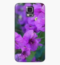 Bougainville in purple Case/Skin for Samsung Galaxy