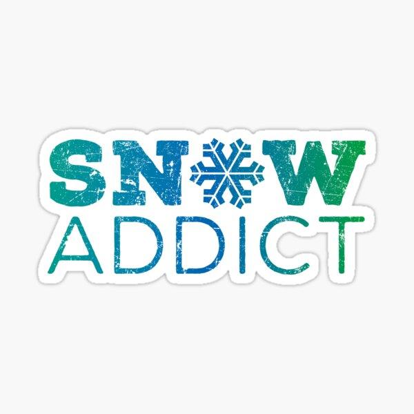 Snow Addict Sticker