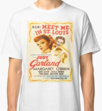Vintage poster - Meet Me in St. Louis Classic T-Shirt