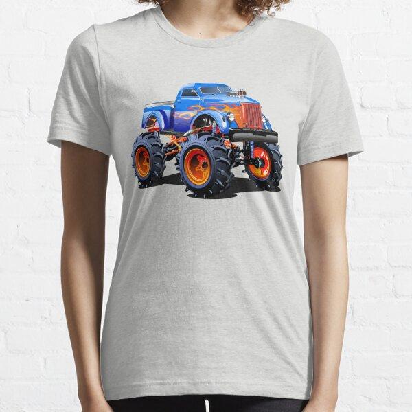 Cartoon Monster Truck Essential T-Shirt