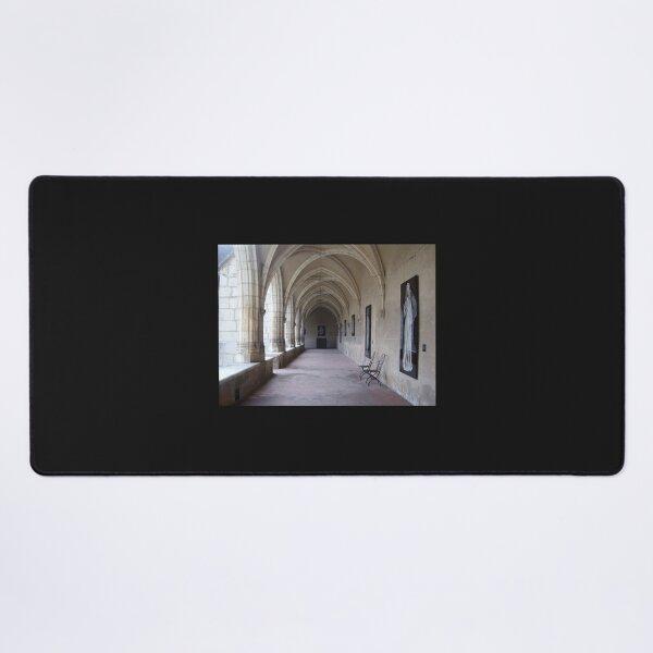 Walkway of Monastere Royal de Brou Desk Mat