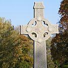 Herbst Celtic Cross von Marie Sharp