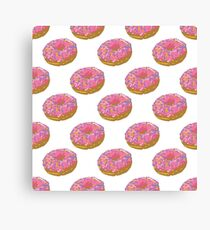 Donuts_ White Canvas Print