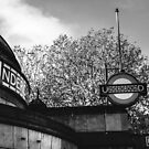 clapham common station by Tony Jackson