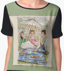 Jane Austen - Emma's Picnic Chiffon Top