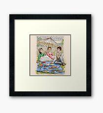 Jane Austen - Emma's Picnic Framed Print