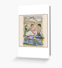 Jane Austen - Emma's Picnic Greeting Card