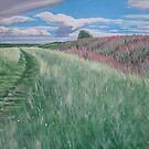 Along the Bokerley Dyke by Charlotte Rose