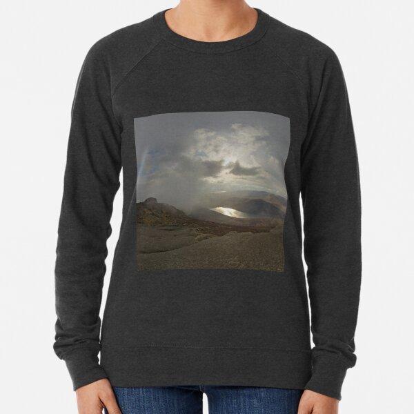 Panoramic View from Slieve Binnian Lightweight Sweatshirt