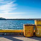 Fishermans Cove, Nova Scotia by Roxane Bay