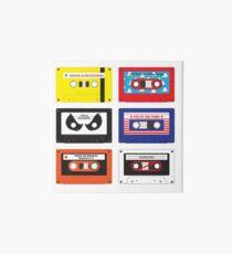 Cassettes Soundtracks Art Board