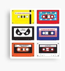 Cassettes Soundtracks Canvas Print