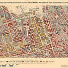 Booth's Map of London Poverty for Marylebone High St ward, Camden by ianturton