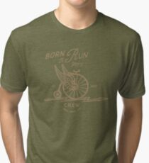 Born to Run Bike Tri-blend T-Shirt