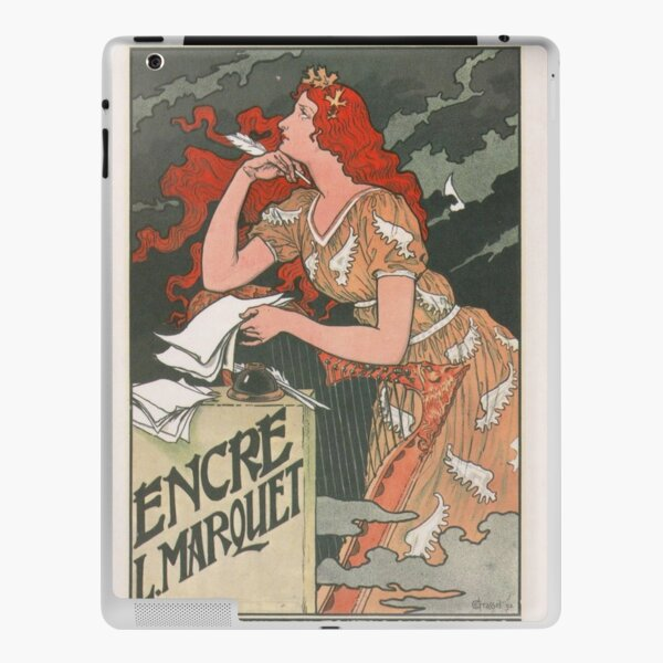 Marquet Ink Vintage French Art Nouveau Poster  iPad Skin