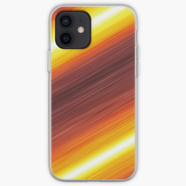 Red Action Lines! iPhone Soft Case