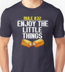 Zombieland - Rule #32 Enjoy The Little Things Unisex T-Shirt