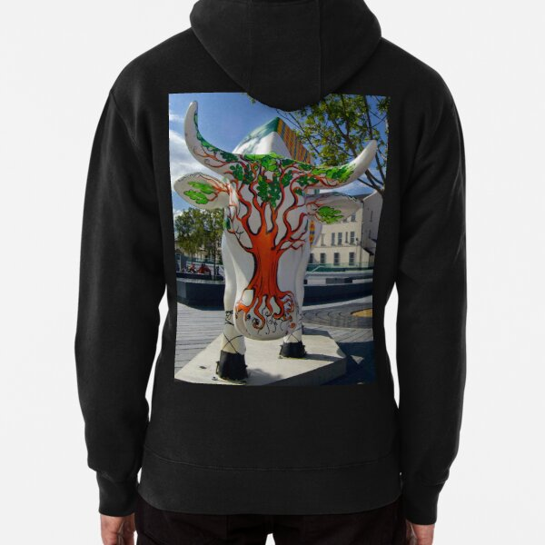 Cows and Trees, Ebrington Square, Derry Pullover Hoodie