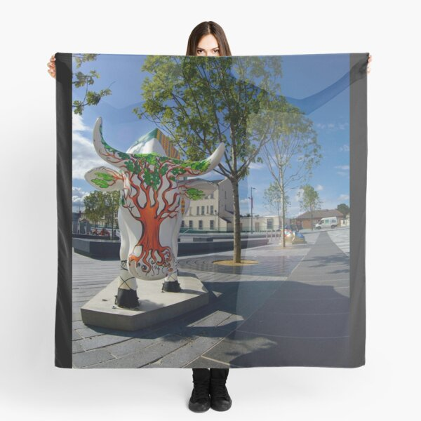 Cows and Trees, Ebrington Square, Derry Scarf