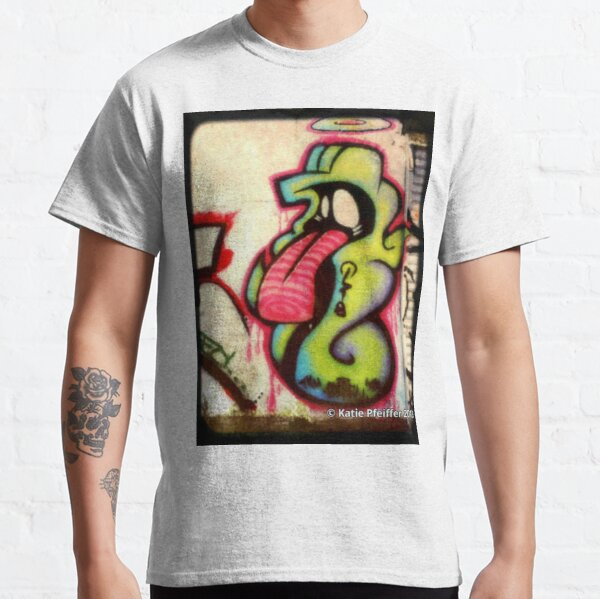 Graffiti- TONGUE Chess Piece West Philly Classic T-Shirt