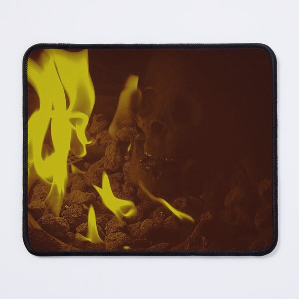 Fire Mouse Pad
