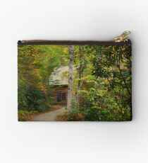 Nestled in the Woods Zipper Pouch