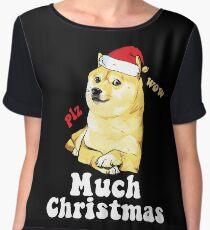 Much Christmas - Doge Meme Chiffon Top