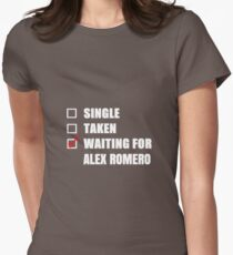 Waiting for Alex Romero Womens Fitted T-Shirt