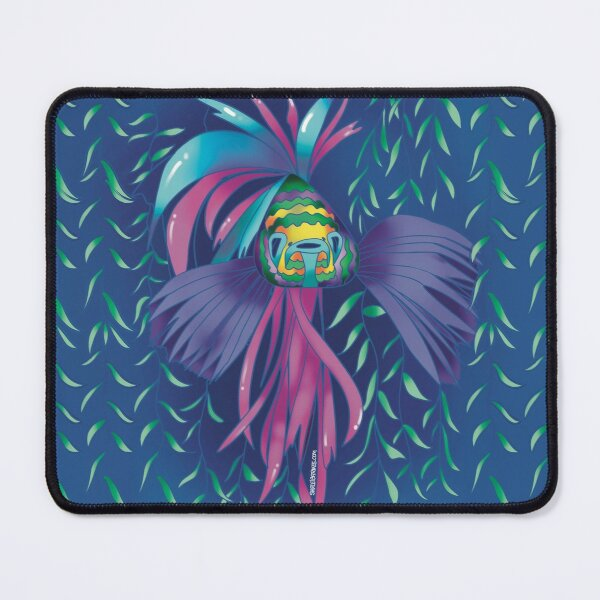 Carnaval fish Mouse Pad