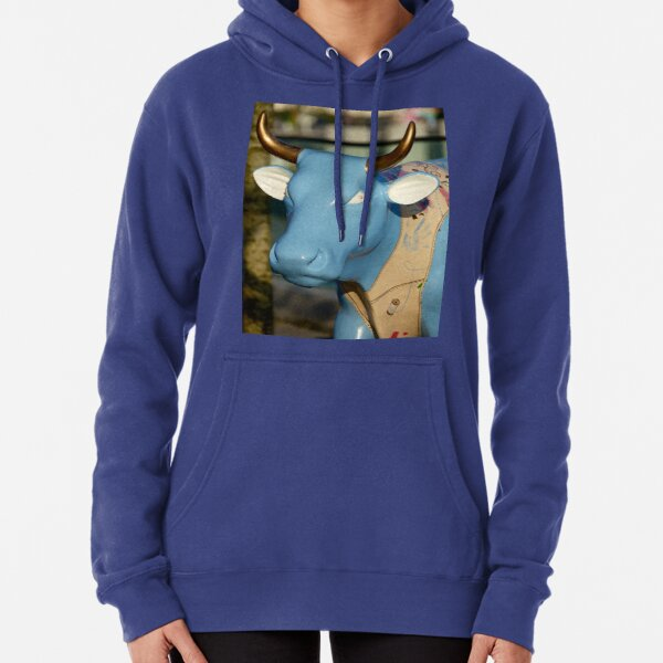 Cow Parade - Shirt Factory Horn, Derry Pullover Hoodie